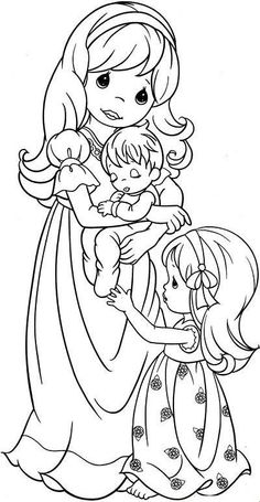 precious moments coloring pages for kids