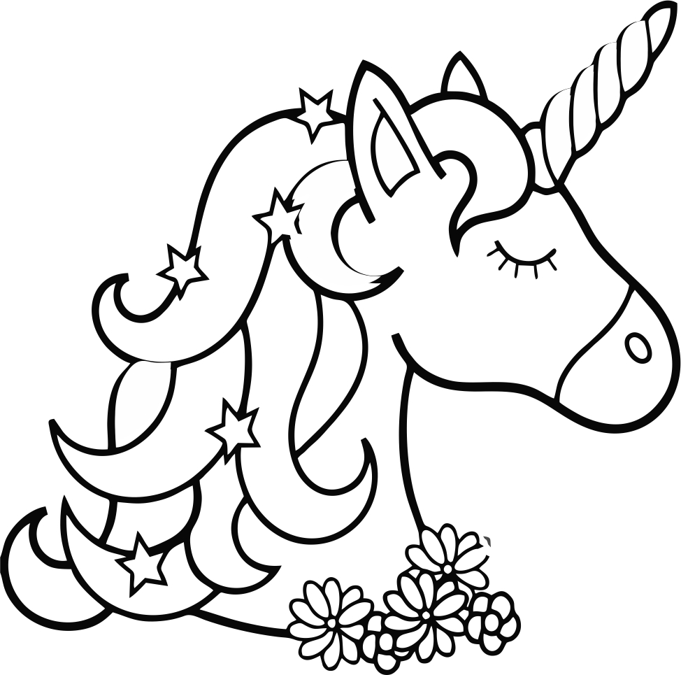 - Unicorn Coloring Page Printable - Kids Coloring Pages