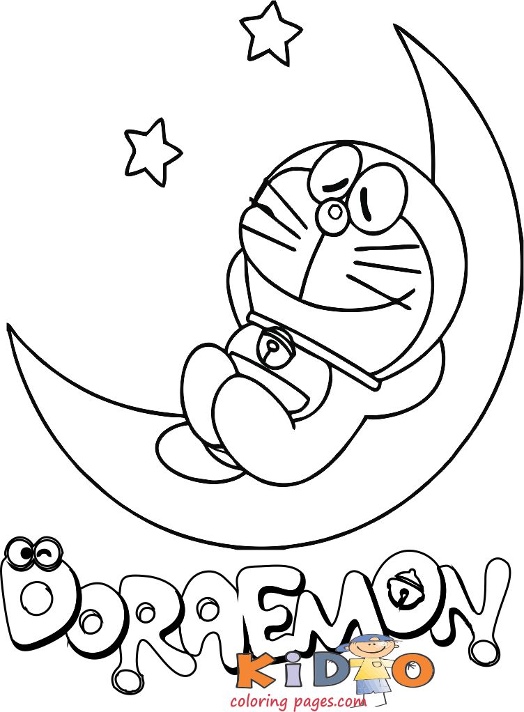doraemon coloring pictures printable