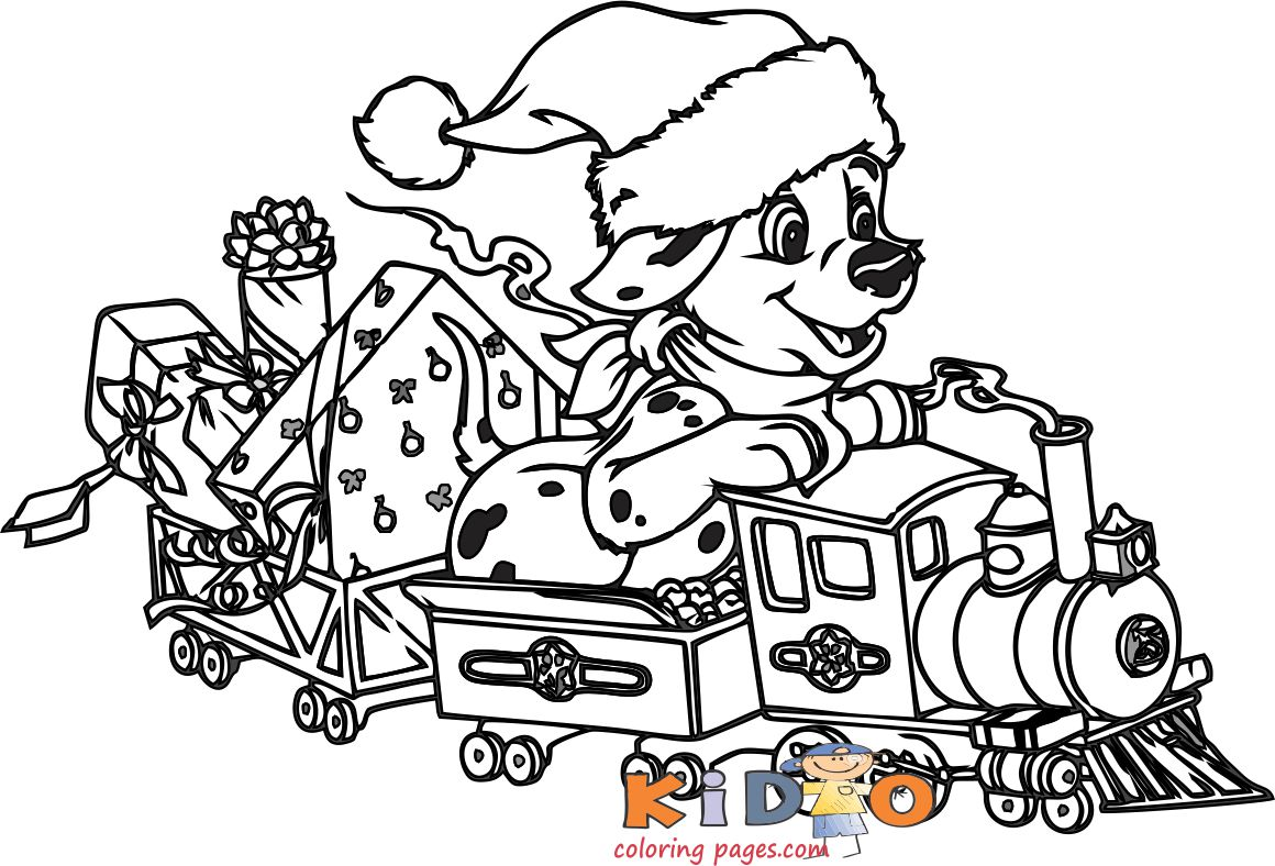 101 Dalmatians Lucky coloring pages