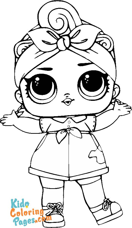 cute lol doll coloring pages unicorn