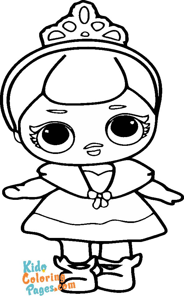 cute lol dolls coloring pages to print