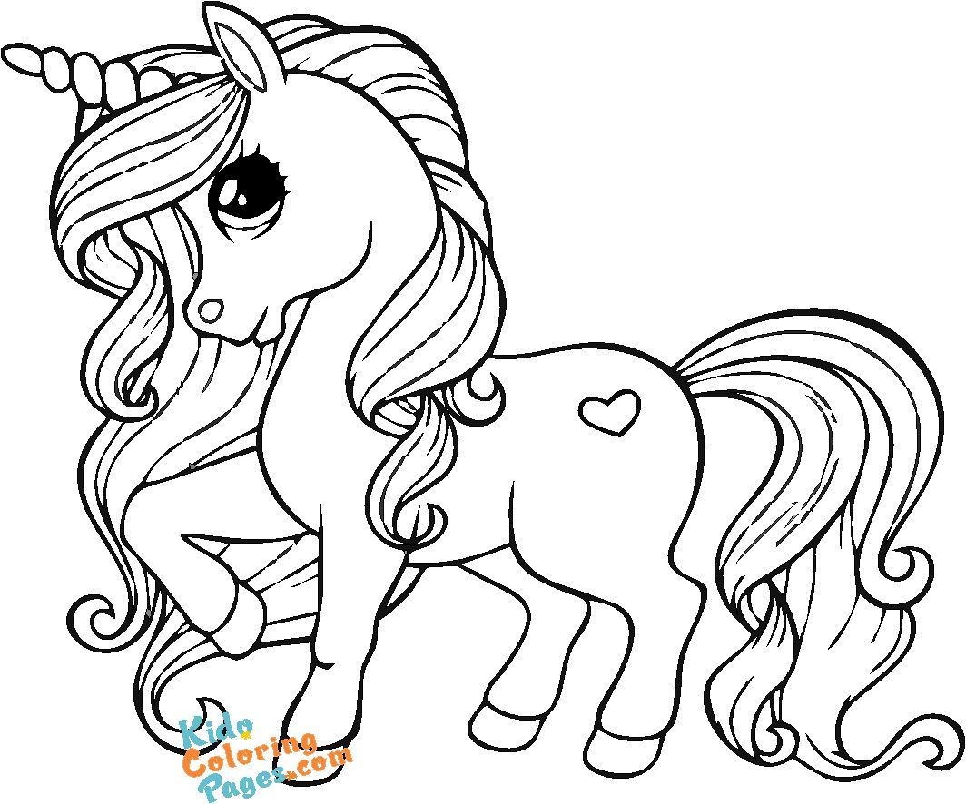 cute unicorn coloring sheets online to printable for kids